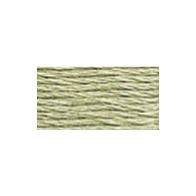 DMC 5214-524 6-Strand Embroidery Cotton 100 Gram Cone, Fern Green Very Light
