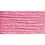 DMC 5214-604 6-Strand Embroidery Cotton 100 Gram Cone, Cranberry Light