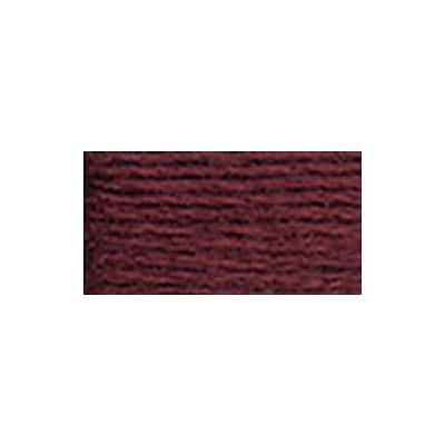 DMC 5214-902 6-Strand Embroidery Cotton 100 Gram Cone, Garnet Very Dark