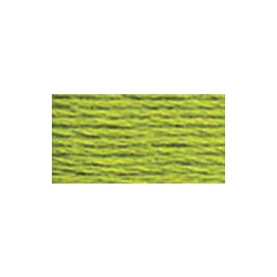 DMC 5214-907 6-Strand Embroidery Cotton 100 Gram Cone, Parrot Green Light