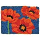 Dimensions 72-73892 Multicolor 8 x 10 Feltworks Kit, Poppies