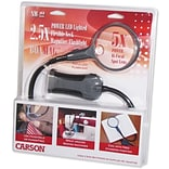 Carson Optical BoaMag SM22 LED Lighted Flexible Neck Magnifier