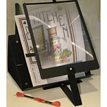 S A Richards 2169 Metal Page Magnifier with Stand