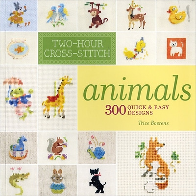 Lark Books LB-3181 Two-Hour Cross-Stitch Animals