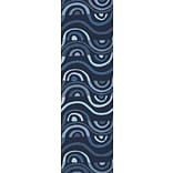 KD Spain Aura Blue Indoor/Outdoor Area Rug; Runner 26 x 8