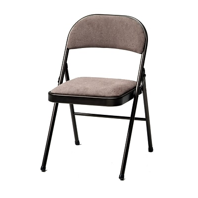 SuddenComfort Deluxe Metal & Fabric Folding Chair; Cinnabar & Corrin