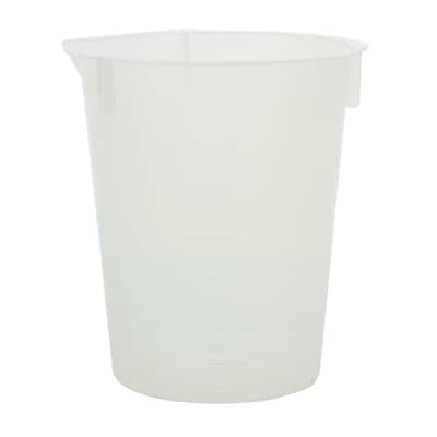 Maryland Plastics, Inc. Polypropylene Disposable Beaker, 30ml, 100/Pack