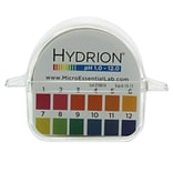 Micro Essential Lab Hydrion Double Roll pH Paper, 1-12