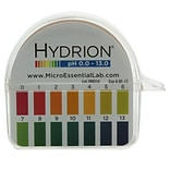 Micro Essential Lab Hydrion Hydrion Jumbo pH Paper Dispenser; 0-13