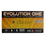 Micro flex Evolution One Latex Gloves, XL, 1000/Case