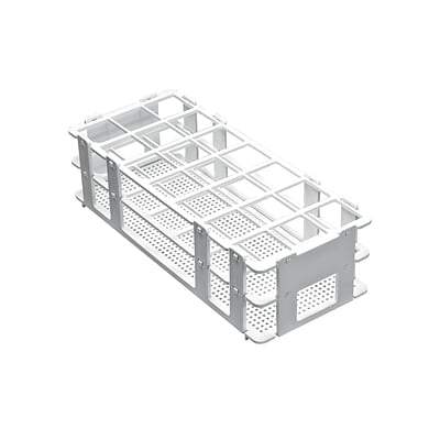 Bel-Art Products Test Tube Rack, 21 Place, 8/Case