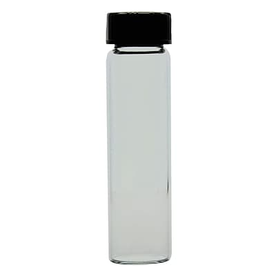 Kimble Chase LLC Expansion Vial with Black Phenolic Cap, 24ml, 144/Pack