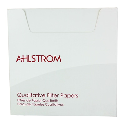 Ahlstrom Filtration LLC Filter Paper, 13, Grade 615, 100/Pack