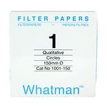 Whatman GE Healthcare Biosciences Filter Paper, Grade 1, 5.9, 100/Pack