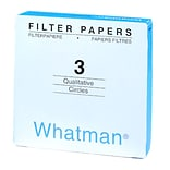 Whatman GE Healthcare Biosciences Filter Paper, 7cm, Grade 3, 100/Pack (1003-070 PK)