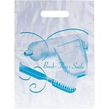 Medical Arts Press® Dental Non-Personalized 1-Color Supply Bags, 7-1/2x9, Brush Floss Paste