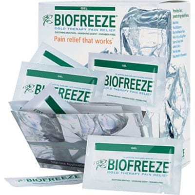 BIOFREEZE® Professional Pain-Relieving Gel Products, 100 3mL Single-Use Packets Dispenser