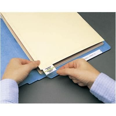 Medical Arts Press® File Folder Dividers, End Position