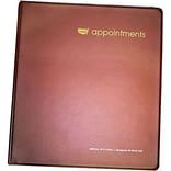 Appointment Book Binders, 8-1/2x11, 22 Rings