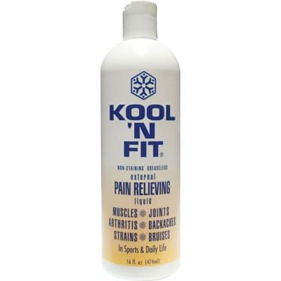 Kool N Fit® Pain Relieving Liquid, 8 oz.