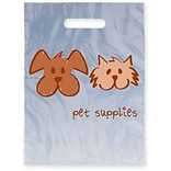 Medical Arts Press® Veterinary Non-Personalized 1-Color Supply Bags, 9x13, Dog & Cat Pet Supplies