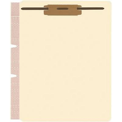 Medical Arts Press® File Folder Dividers, Side-Flap, 2 Fasteners on Top of Both Sides