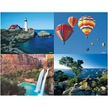 Medical Arts Press® Assorted Laser Postcards, Hot Air Balloons