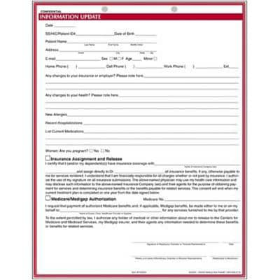 dental charting forms