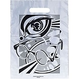 Medical Arts Press® Eye Care Non-Personalized 1-Color Supply Bags, 12x16, Glasses