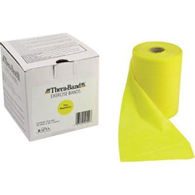 Thera-Band® Exercise Bands, 50 Yard Bulk Roll, Thin, Yellow
