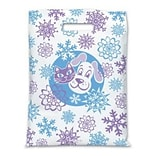 Medical Arts Press® Veterinary Scatter Print Bags,11x15,  Snow & Pets