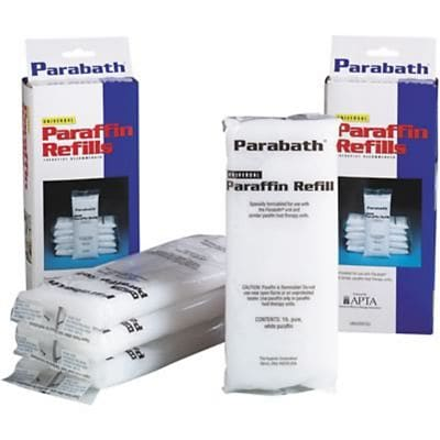 Parabath® Unscented Paraffin Refill, 6lb Box