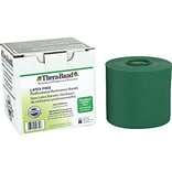 Thera-Band® Latex Free Exercise Bands 25 Yard Rolls, Heavy, Green