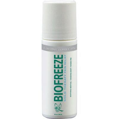 BIOFREEZE® Professional Roll-On, Colorless, 3-oz.