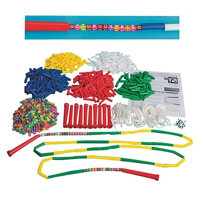 S&S Worldwide Make Your Own Custom Beaded Jump Rope Pack