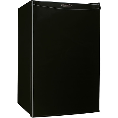 Danby Compact 4.4-Cubic Feet Refrigerator; Black