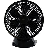 Keystone 6-Inch USB Black Desk Fan