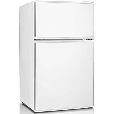 Keystone Energy Star Compact 3.1 cu. Ft 2-Door Refrigerator/Freezer (KSTRC312CW)