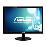 ASUS® VS197T-P WXGA Adjustable Widescreen LED LCD Monitor, 18.5