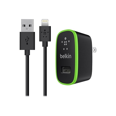 Belkin Mobile Home Charger with Lightning Cable for iPad