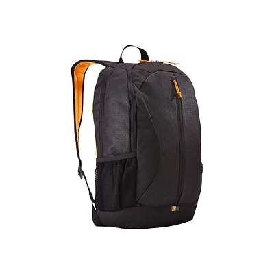 Case Logic® Ibira Black Polyester Backpack for 15.6 Laptop (IBIR-115BLACK)