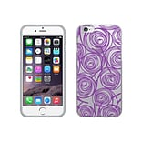Centon OTM New Age Collection Case for iPhone 6, Clear, Swirls, Amethyst