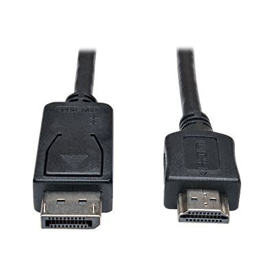 Tripp Lite P582-003 3 Displayport to HDMI In Line Passive Adapter; Black