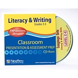 Mastering Literacy & Writing Interactive Whiteboard CD-ROM Site Licenses Grade 3-5