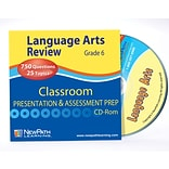 Language Arts Interactive Whiteboard CD-ROM Grade 6