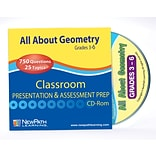 All About Geometry Interactive Whiteboard CD-ROM