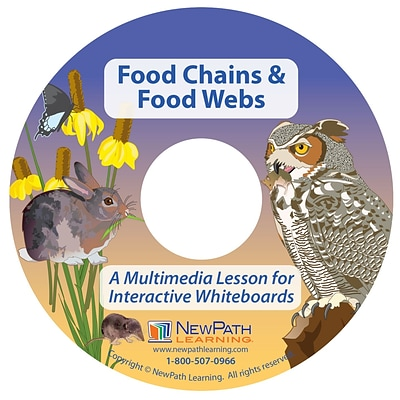 NewPath Learning Food Chains and Food Webs Multimedia Lesson