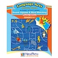 NewPath Learning Alphabet Activity Series - Sound Jigsaws & Word Matching Workbook