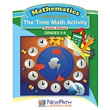 The Time Math Activity Reproducible Workbook