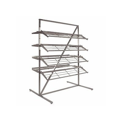 Econoco 8 Shelves T Style Adjustable Shoe Rack